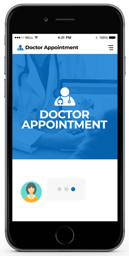 doctor appointment chatbot examples