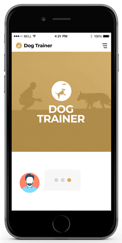automation to help dog trainers