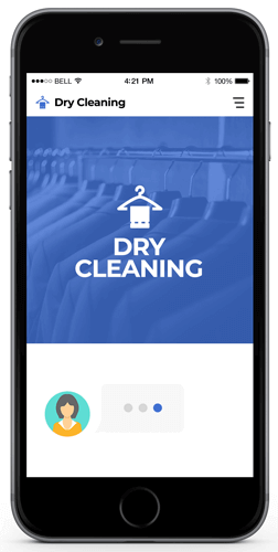 dry cleaning services bot