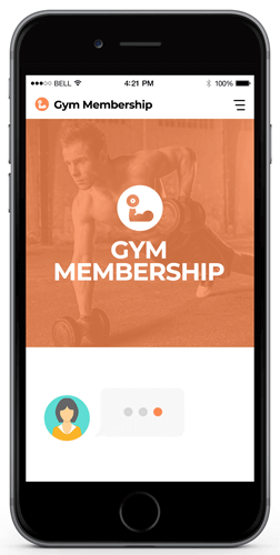 bot to increase gym memberships