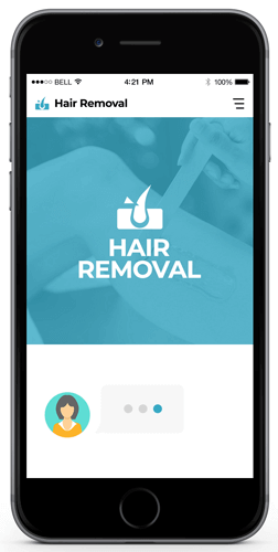 Hair Removal Services Bot