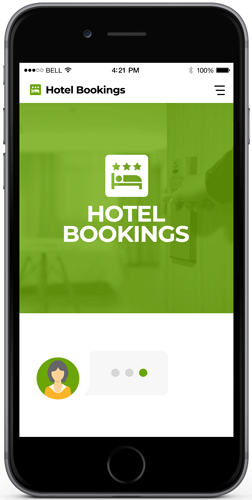 Hotel Chatbot Example