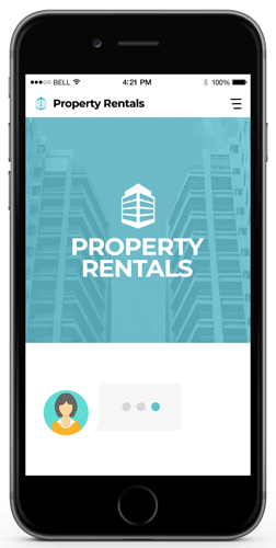 Real Estate Chatbot Example (Property Rentals)