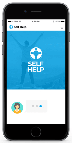 Bot For Self Help Services