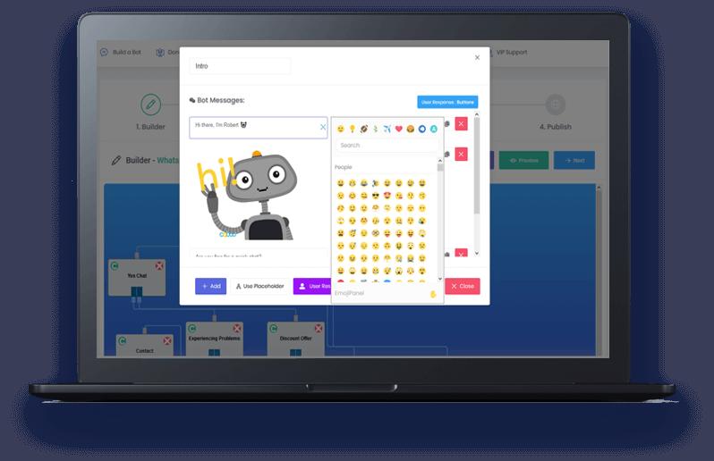 chatbot whatsapp builder