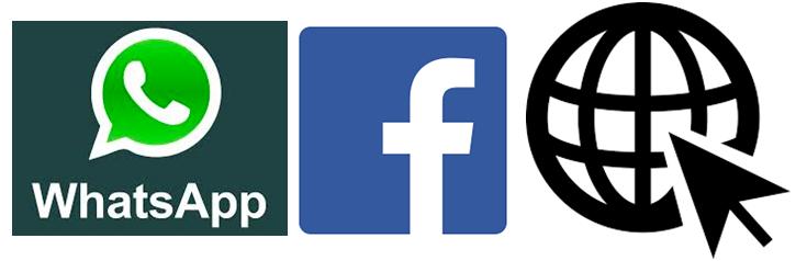 WhatsApp, Facebook or Website bot