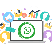 98% open rates on WhatsApp